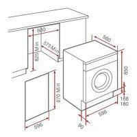 Встраиваемая стиральная машина Teka LI4 1470 - 2 фото