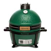 Гриль угольный керамический Big Green Egg Minimax 33 см зеленый - 2 фото