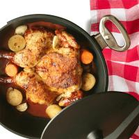 Сковорода для цыпленка табака 28 см Baf Gigant Newline - 4 фото