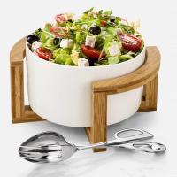 Подставка для салатников 24,5х11см Wilmax Bamboo - 4 фото