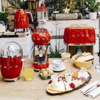 Чайник электрический 1,7 л Smeg 50's Style KLF04RDEU красный - 6 фото