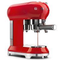 Кофемашина-эспрессо 30х33 см Smeg 50's Style ECF01RDEU красная - 2 фото