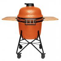 Керамический уличный гриль большой 135*58*120см (оранжевый) - 1 фото