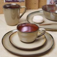 Тарелка закусочная 21 см Julia Vysotskaya Copper - 4 фото
