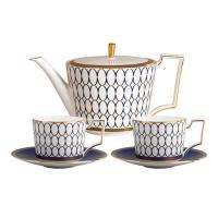 Чайный сервиз Wedgwood Renaissance Gold 5 пр - 1 фото