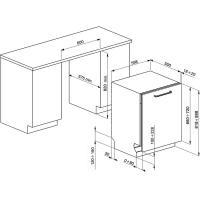 Встраиваемая посудомоечная машина 60 см Smeg ST65120 - 2 фото