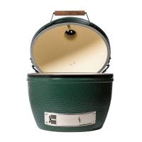 Гриль угольный керамический Big Green Egg Xl 61 см зеленый - 2 фото
