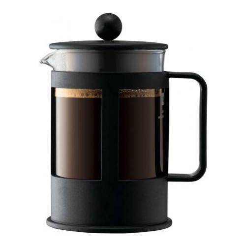 Кофейник френч-пресс Bodum Kenya, 0.5л чёрный - 3 фото