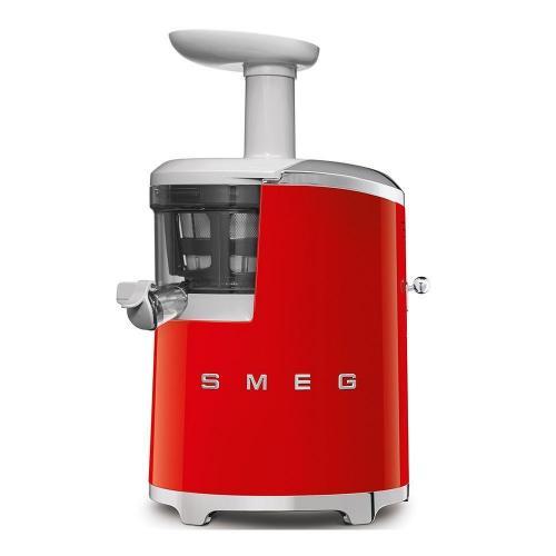 Соковыжималка шнековая 17х41 см Smeg 50's Style SJF01RDEU красная - 7 фото