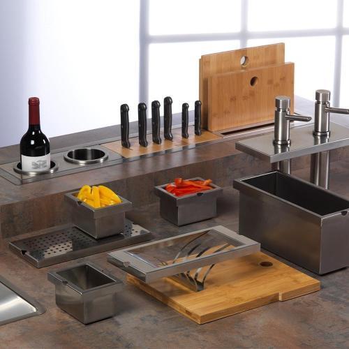 Модуль для ножей 31,4х13,9 см Reginox Manhattan - 4 фото