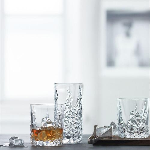 Набор высоких стаканов 420 мл Nachtmann Sculpture 2 пр - 4 фото