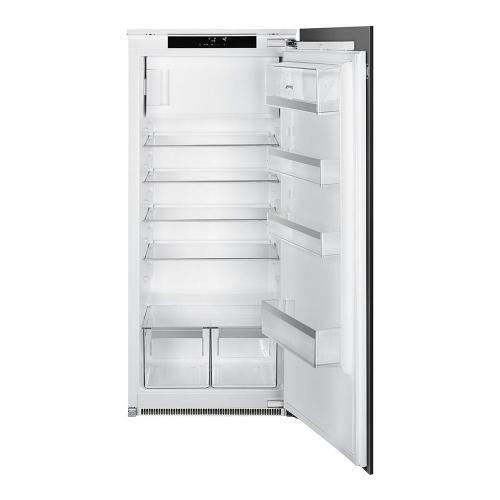 Встраиваемый однодверный холодильник 122 см Smeg S8C124DE белый - 4 фото