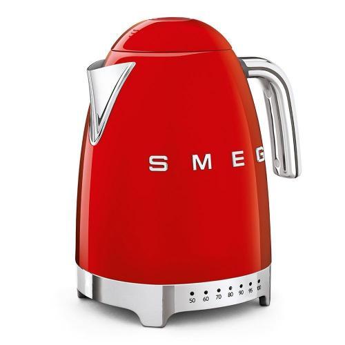 Чайник электрический 1,7 л Smeg 50's Style KLF04RDEU красный - 1 фото