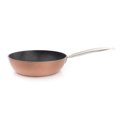 Сковорода антипригарная глубокая 28 см Ibili Natura Copper - 1 фото
