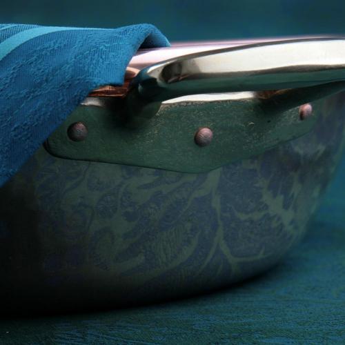 Тазик для варки варенья 9 л D 36 см, медь, с бронзовыми ручками Ruffoni Jam pot - 3 фото