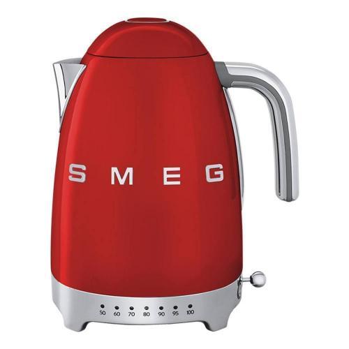 Чайник электрический 1,7 л Smeg 50's Style KLF04RDEU красный