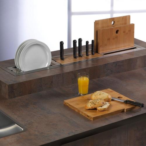 Модуль для ножей 31,4х13,9 см Reginox Manhattan - 3 фото