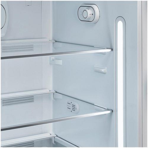 Холодильник однокамерный 153х60 см Smeg 50's Style FAB28RWH3 белый - 4 фото
