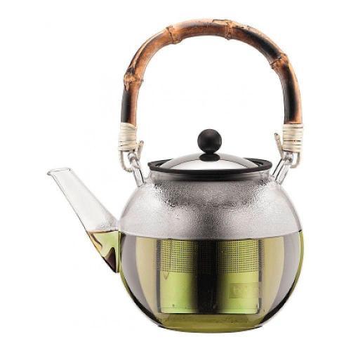 Чайник заварочный 1,5 л с бамбуковой ручкой Bodum Assam - 2 фото