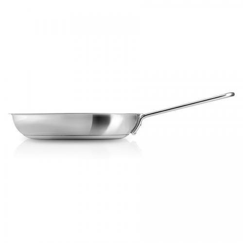 Сковорода с антипригарным покрытием 24 см Eva Solo Stainless Steel стальная - 1 фото