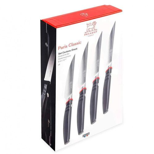 Набор ножей для стейка 11 см Peugeot Классик 4 пр - 1 фото