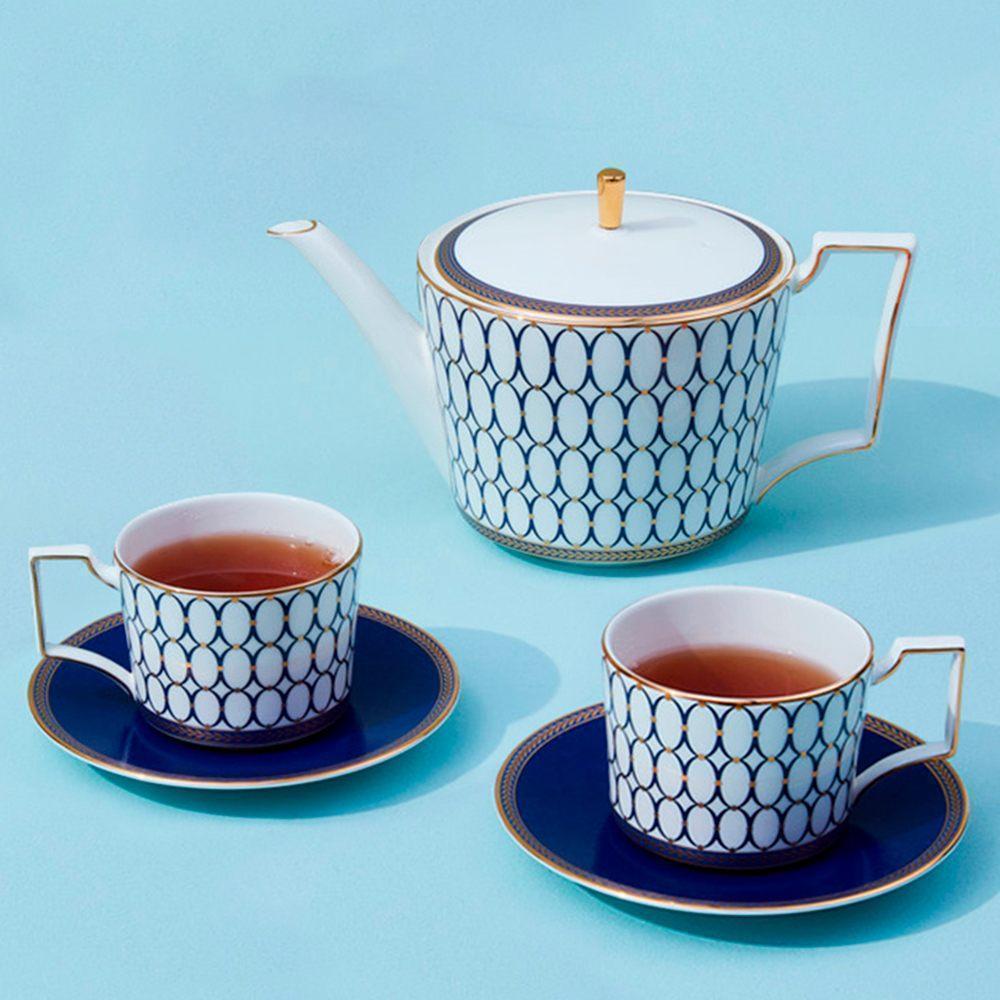 Чайный сервиз Wedgwood Renaissance Gold 5 пр - 3 фото