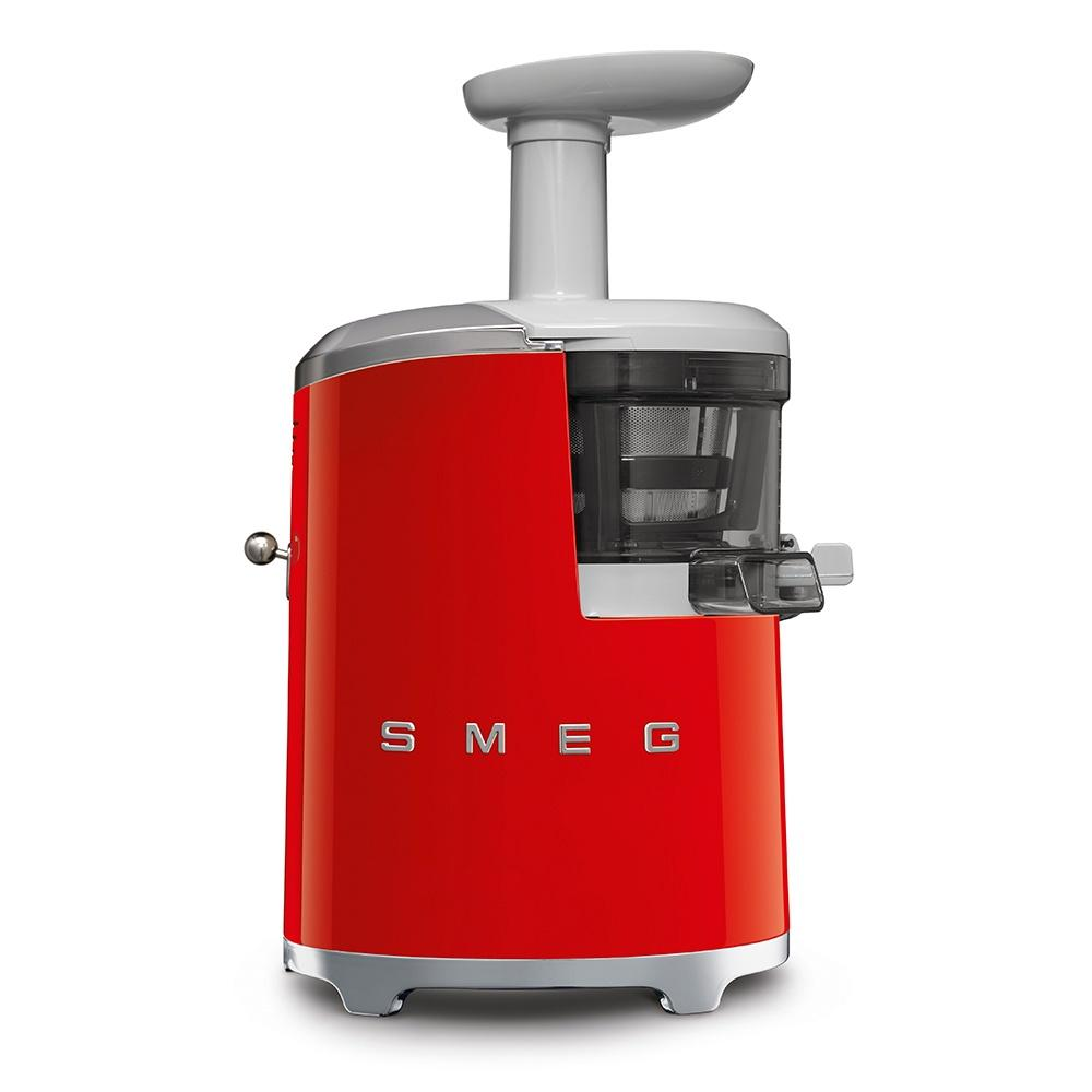 Соковыжималка шнековая 17х41 см Smeg 50's Style SJF01RDEU красная - 1 фото