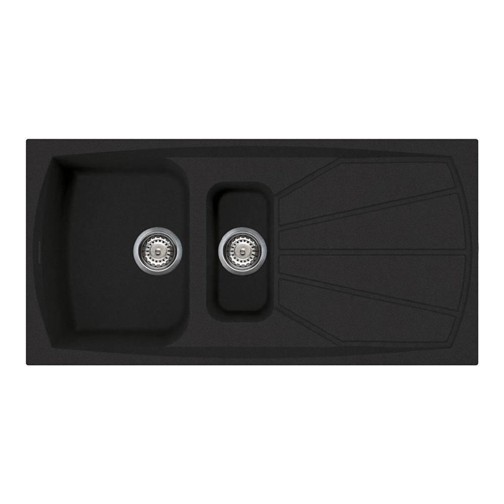Мойка 100х50 см Smeg Classic LSE1015A-2 антрацит - 2 фото