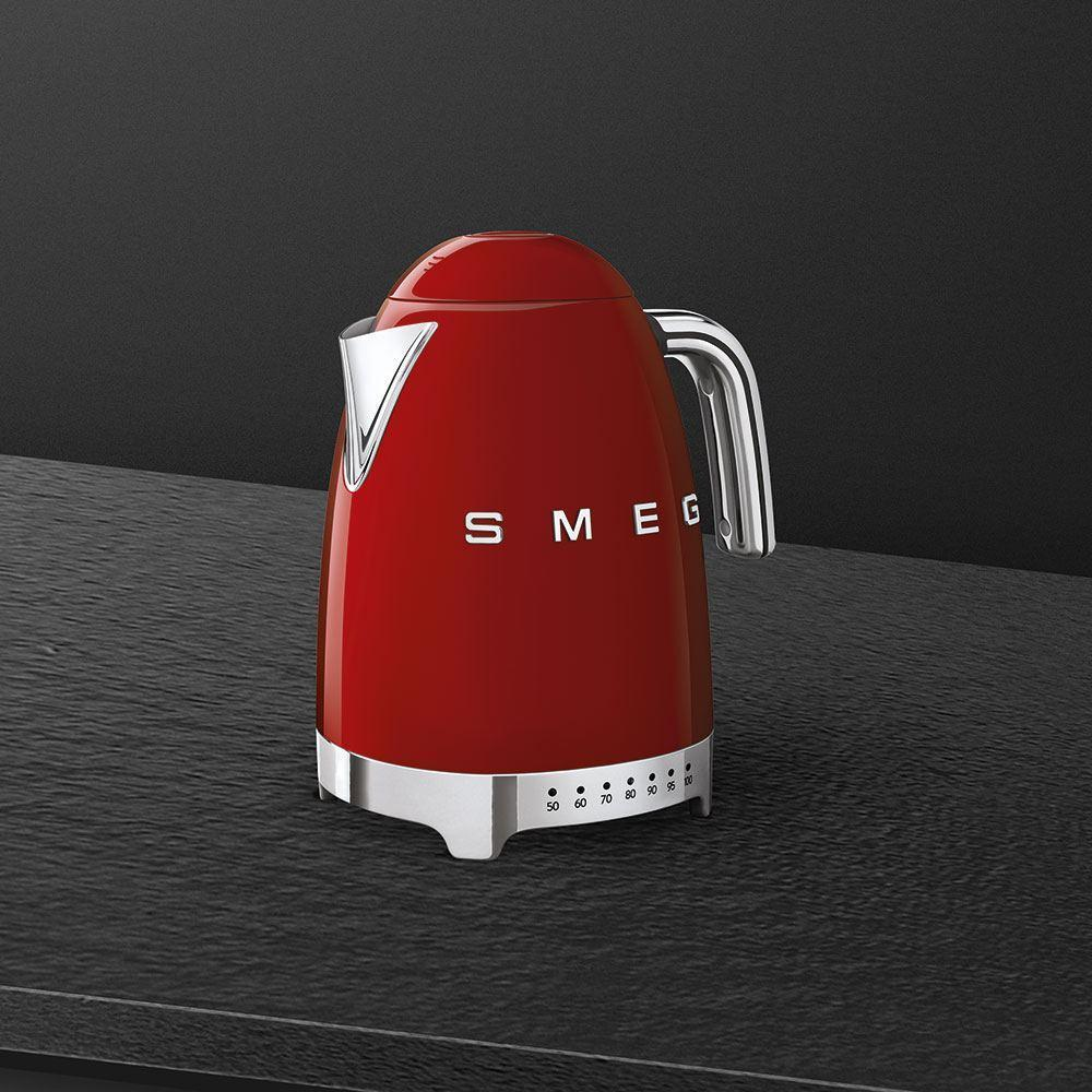 Чайник электрический 1,7 л Smeg 50's Style KLF04RDEU красный - 4 фото