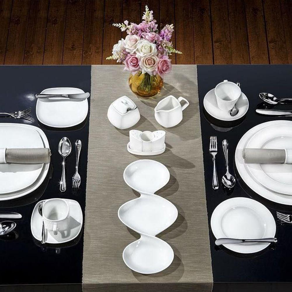 Тарелка обеденная 25,5 см Wilmax Fine - 5 фото