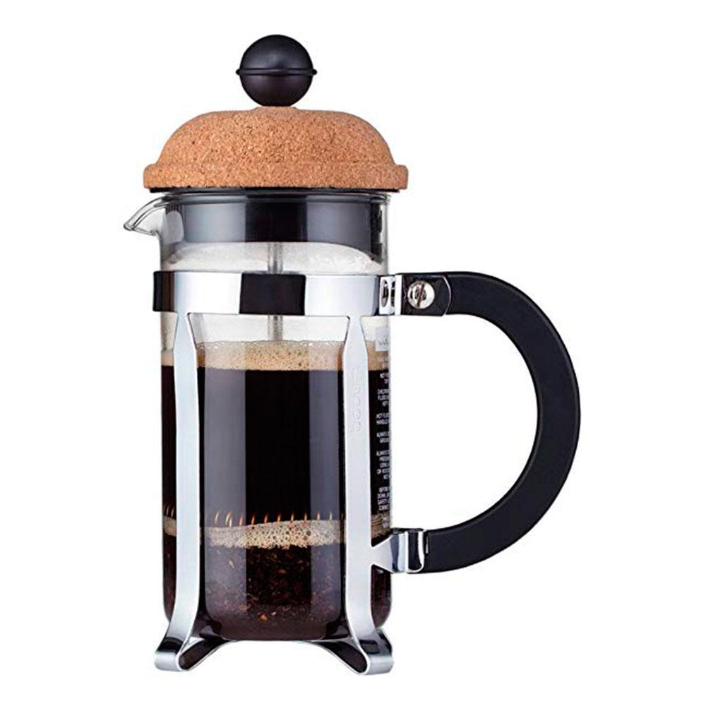 Кофейник с прессом с пробковой крышкой 0,35л Bodum Chambord - 1 фото