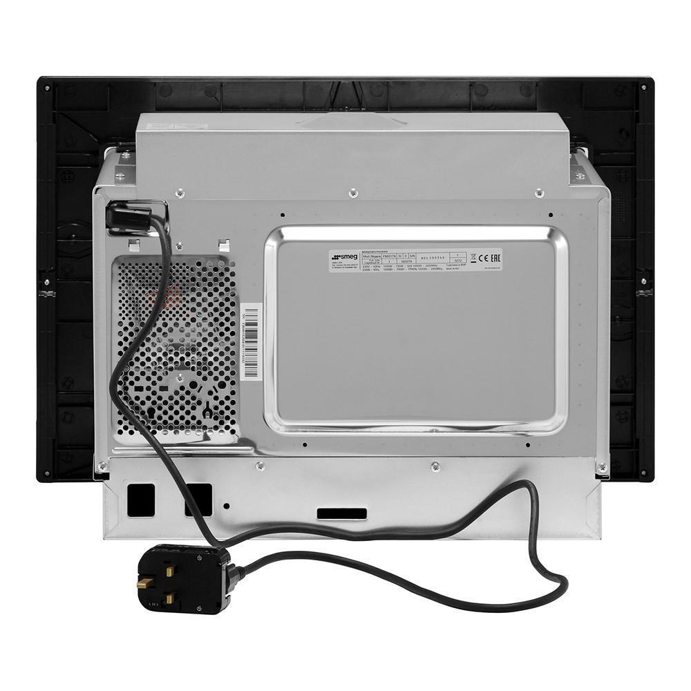 встраиваемая микроволновая печь Smeg Fmi017x