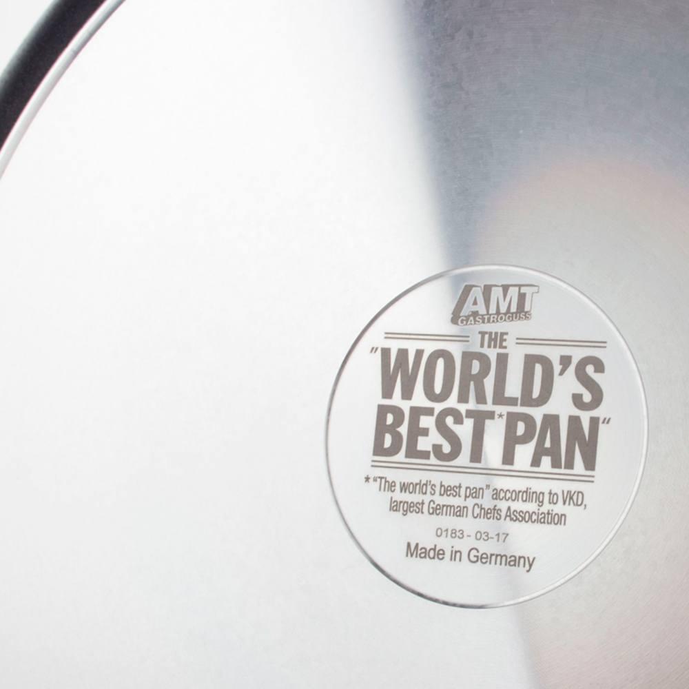 Сковорода алюминиевая 24 см AMT Frying Pans Fix - 2 фото
