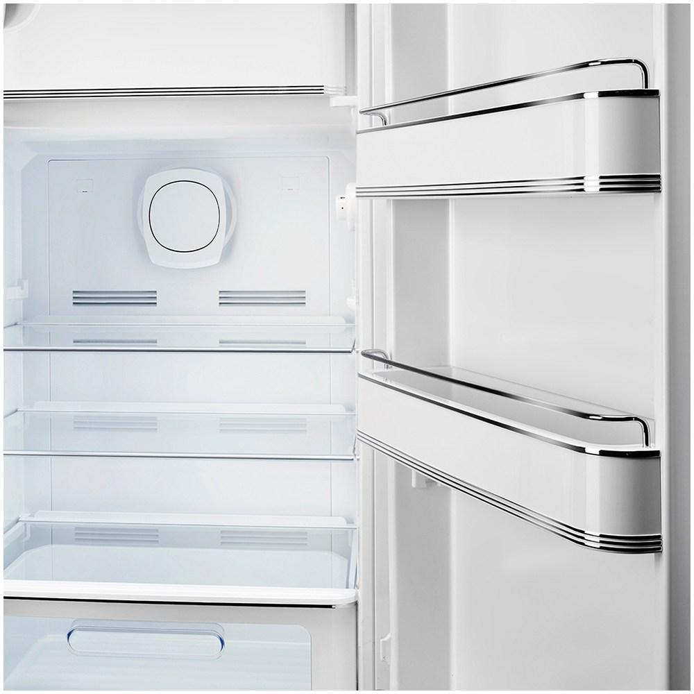 Холодильник однокамерный 153х60 см Smeg 50's Style FAB28RWH3 белый - 3 фото