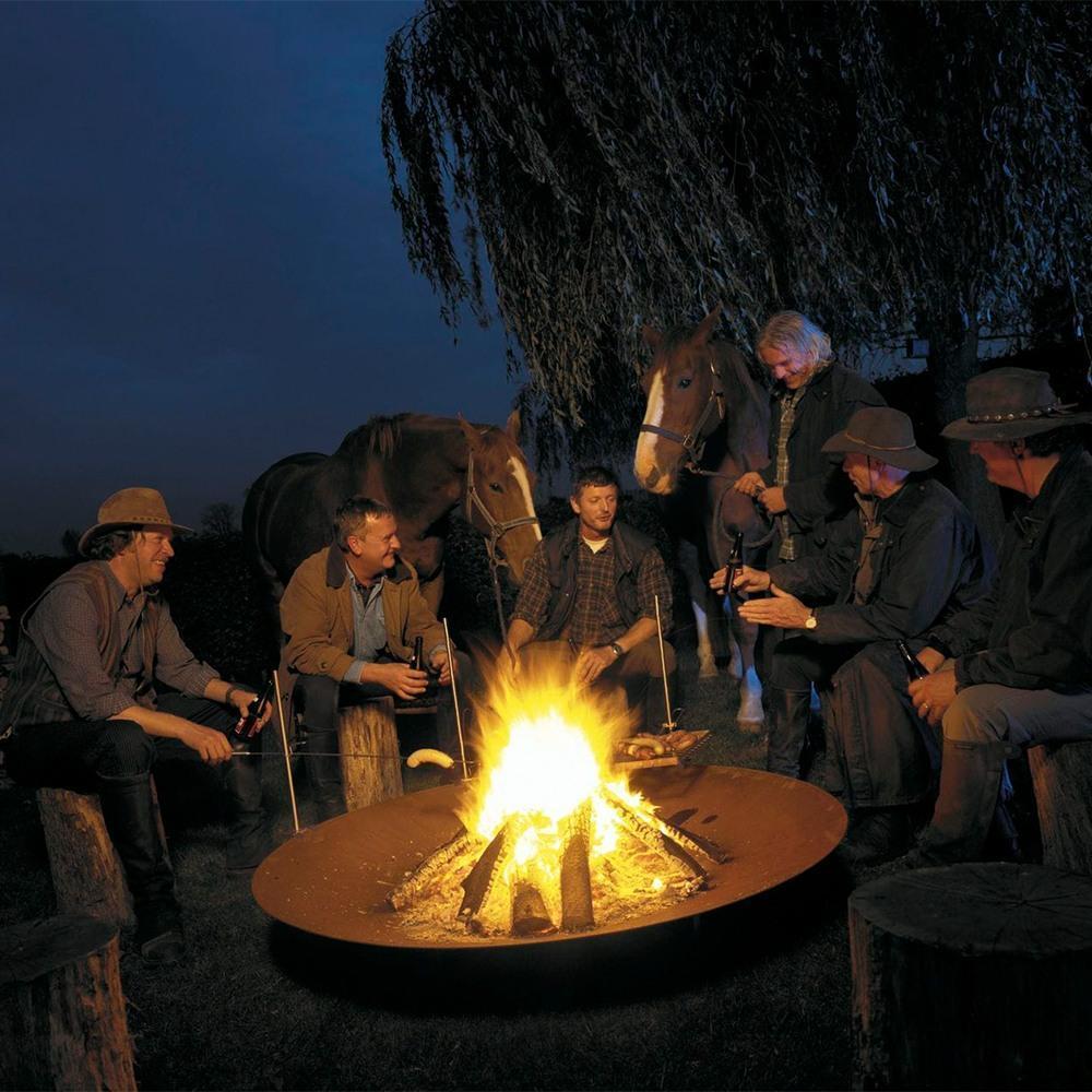 Чаша для разведения костра Firewood GF-03/120 - 4 фото