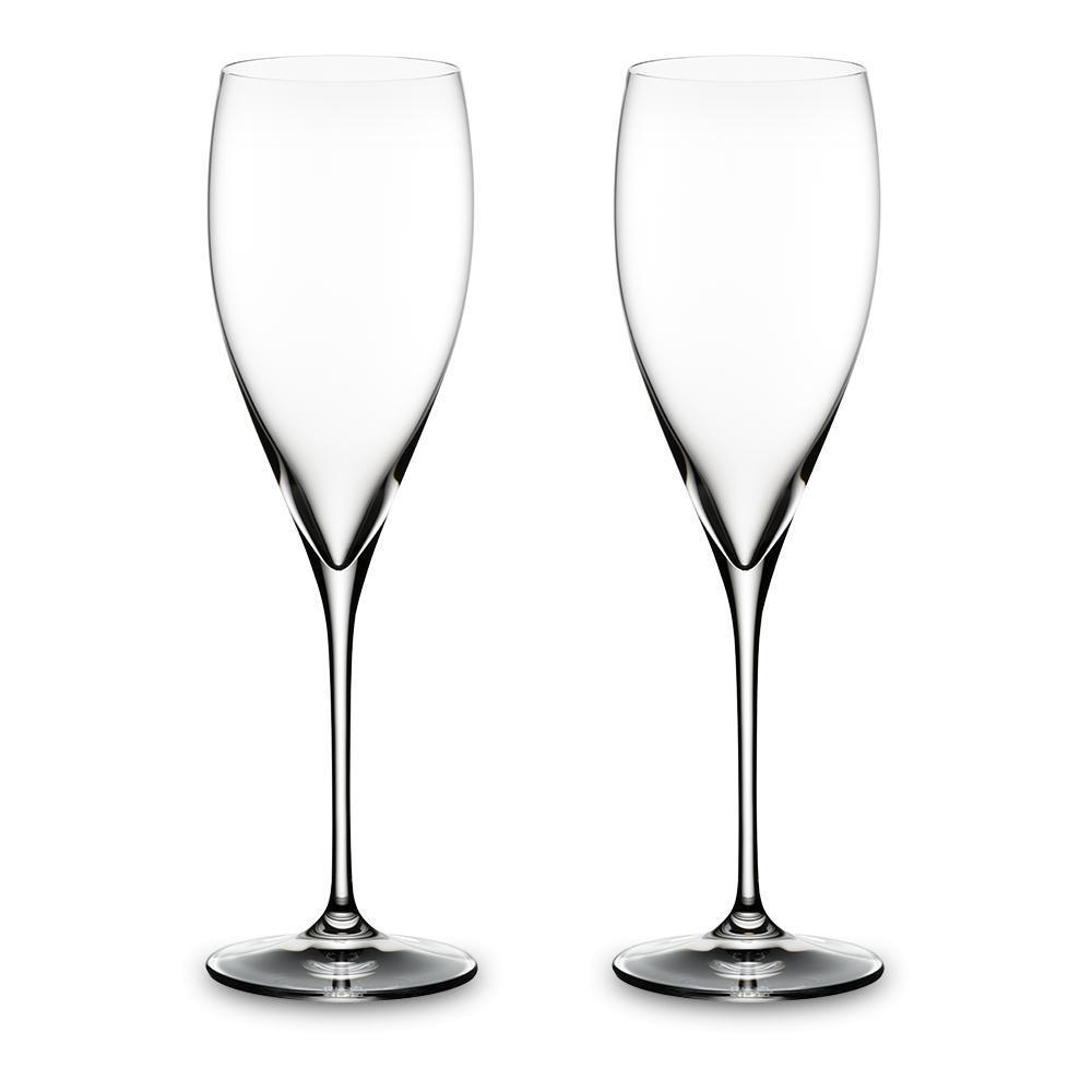 Набор бокалов для винтажного шампанского 343 мл Riedel Vinum XL 2 пр - 3 фото