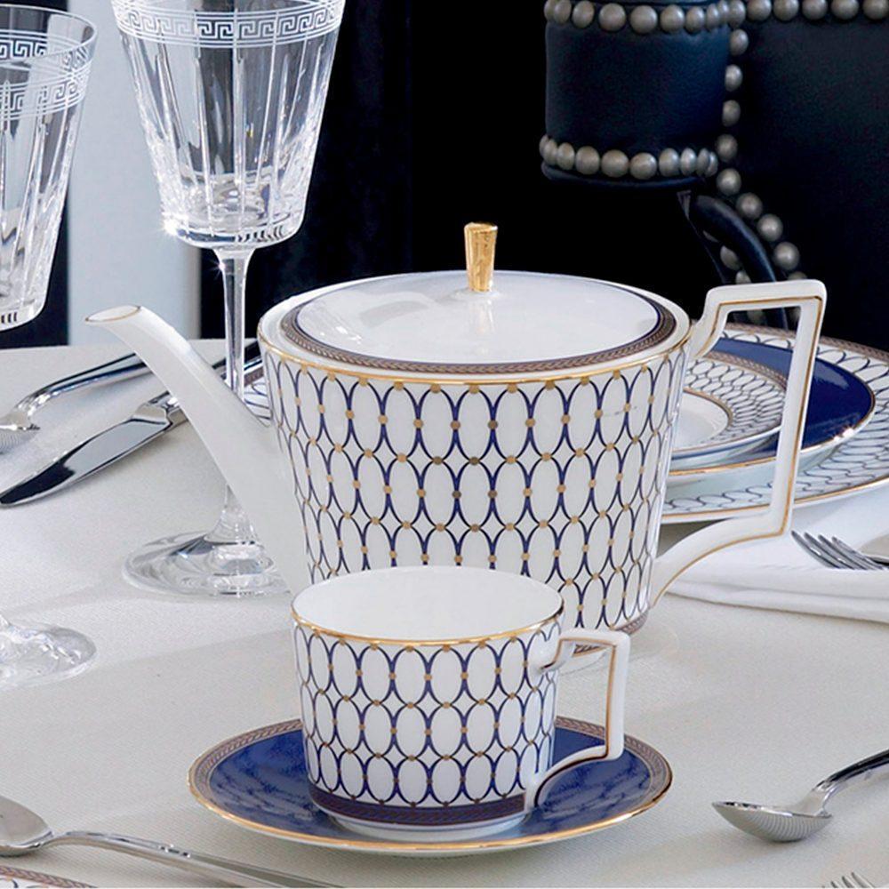 Чайный сервиз Wedgwood Renaissance Gold 5 пр - 2 фото
