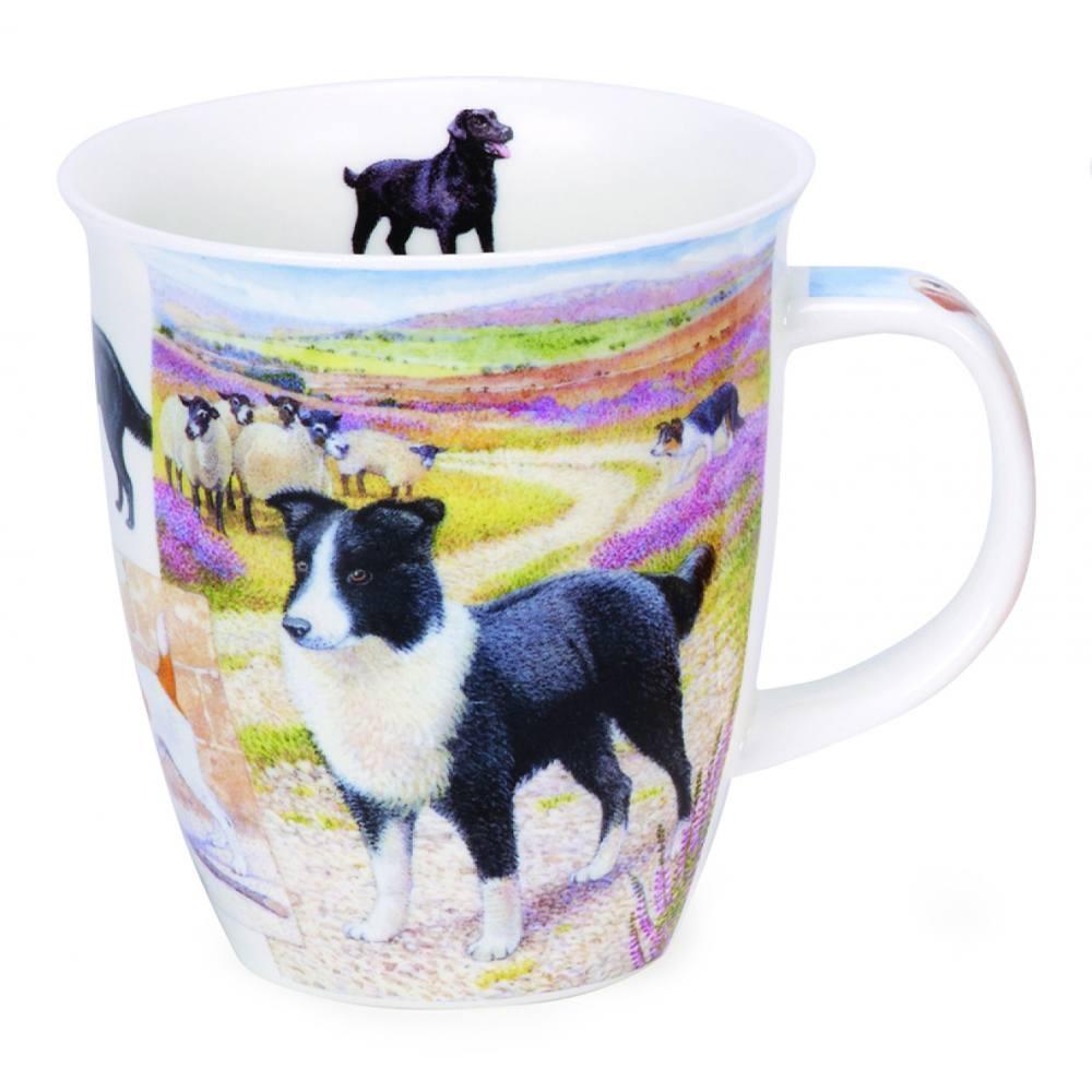 Кружка Пастушьи собаки 480 мл Dunoon Nevis Сountry Life - 1 фото