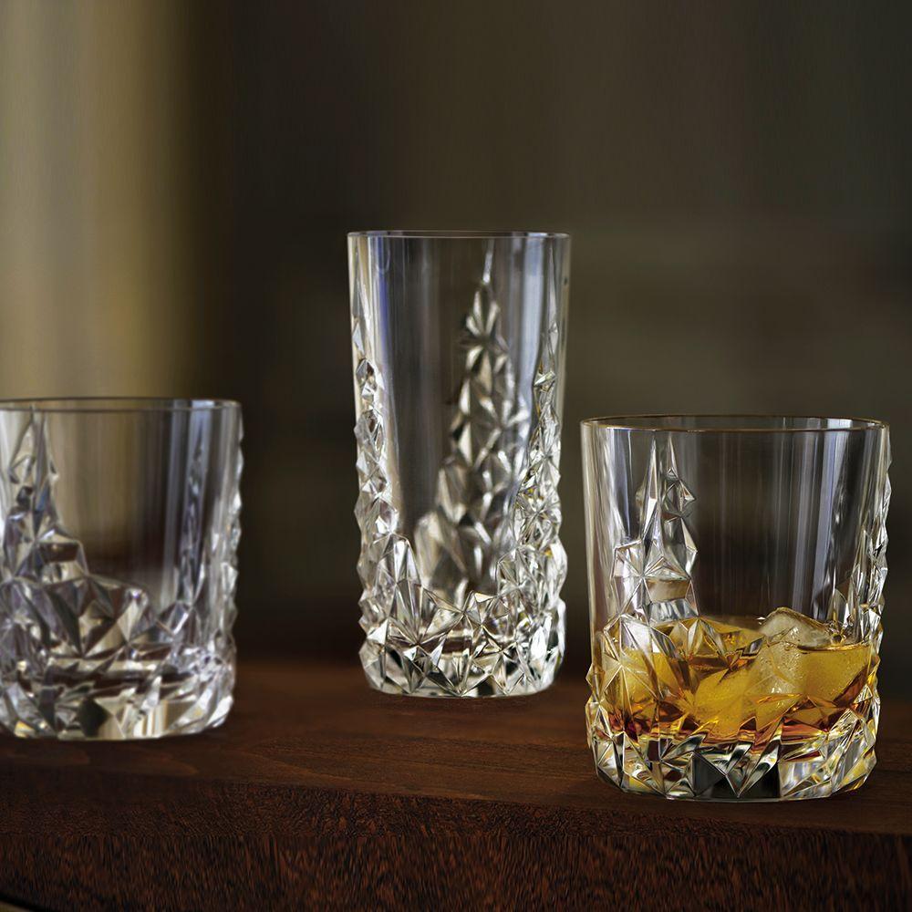 Набор высоких стаканов 420 мл Nachtmann Sculpture 2 пр - 5 фото