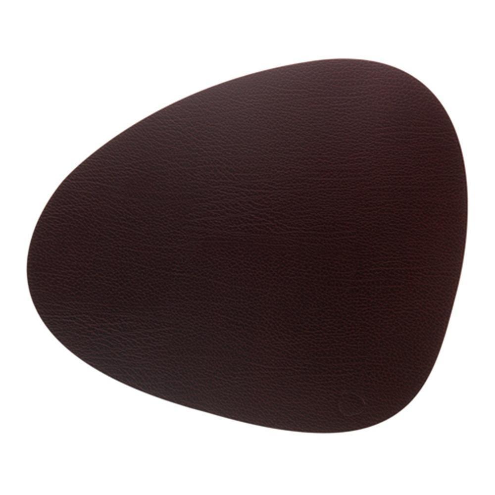 Подстановочная салфетка фигурная 37x44 см Lind Dna Bull коричневый - 1 фото