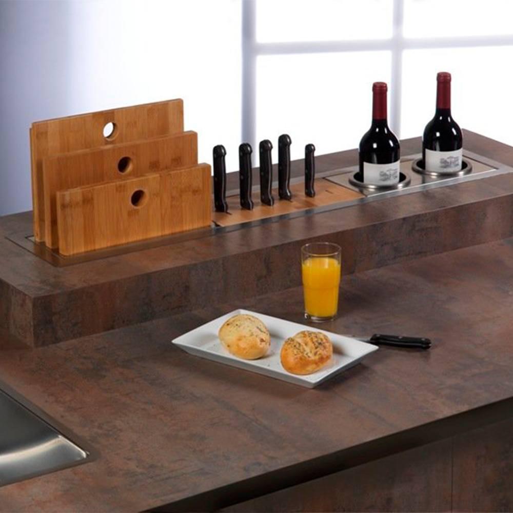 Модуль для ножей 31,4х13,9 см Reginox Manhattan - 2 фото