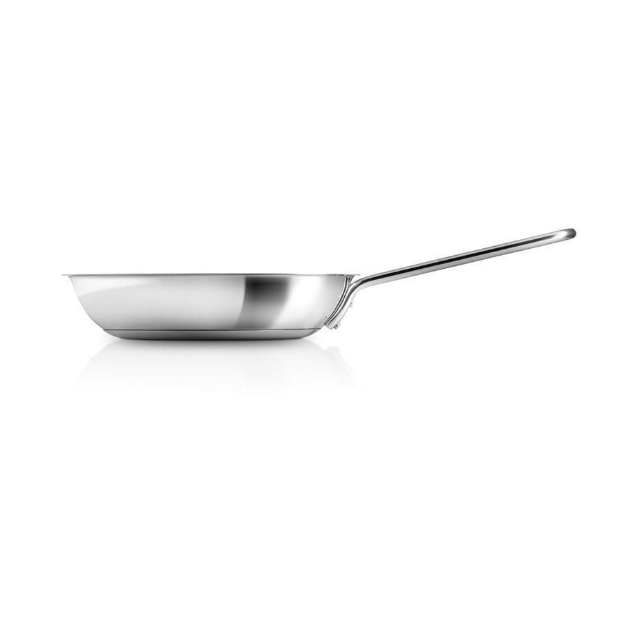Сковорода с антипригарным покрытием 30 см Eva Solo Stainless Steel стальная - 1 фото