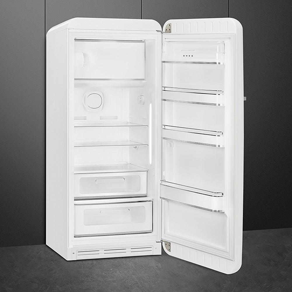 Холодильник однокамерный 153х60 см Smeg 50's Style FAB28RWH3 белый - 2 фото